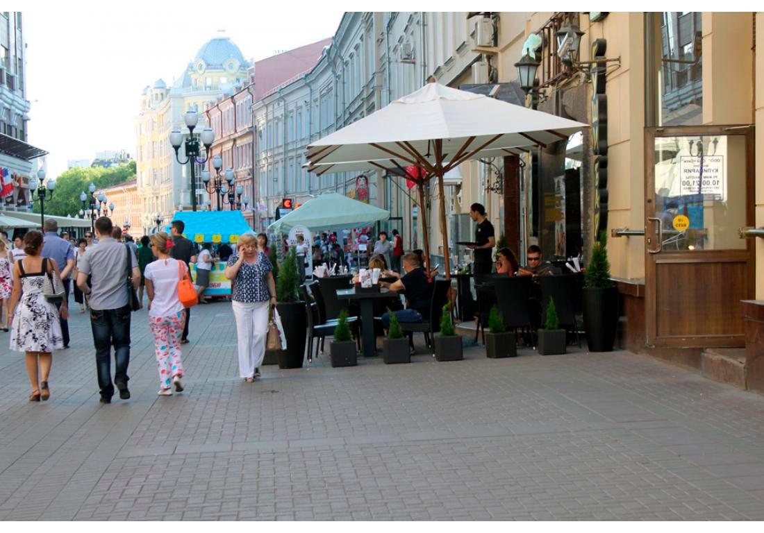 "Cуши-бар ""Евразия"", ул. Старый Арбат, г. Москва"