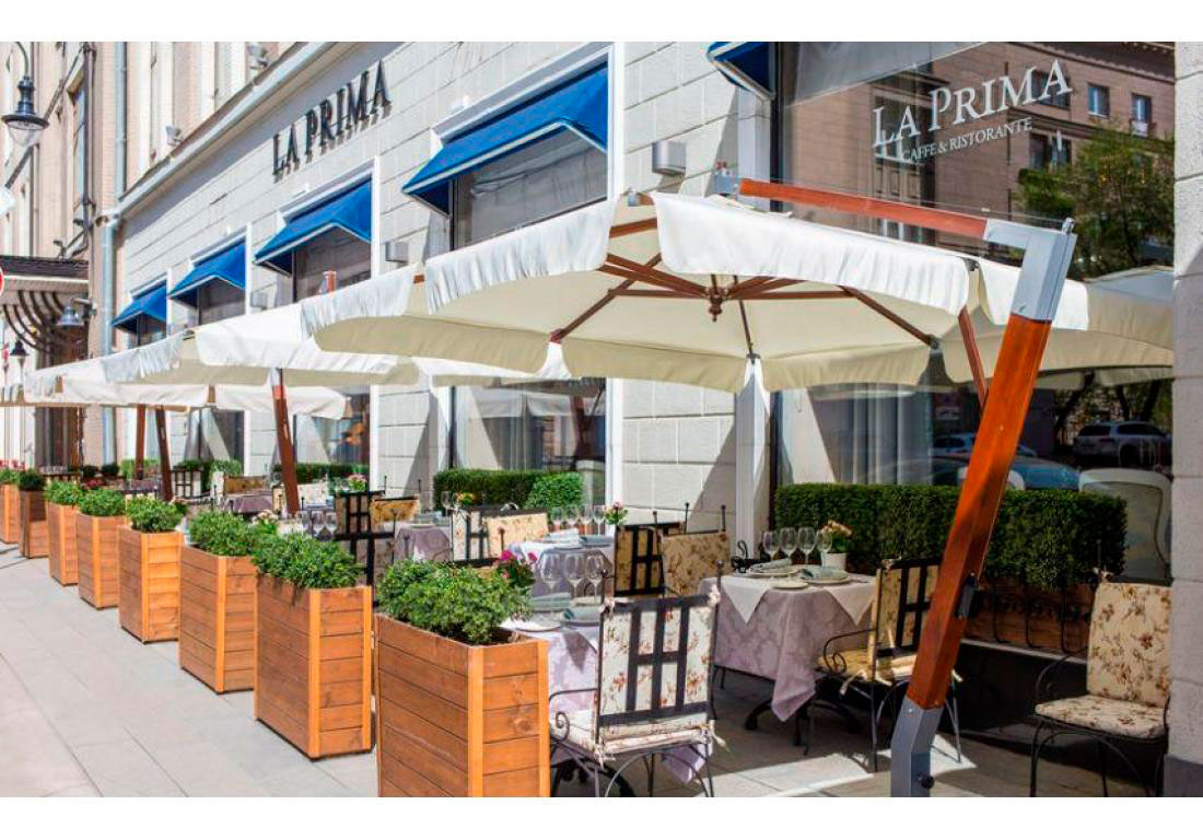Ресторан La Prima, Москва