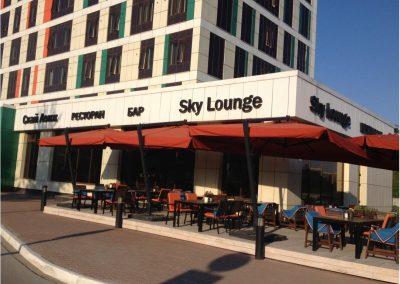 Ресторан Sky Lounge и отель Sky Port, г. Новосибирск