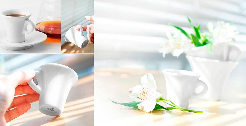 Aida – фарфоровые кофейные пары Ancap