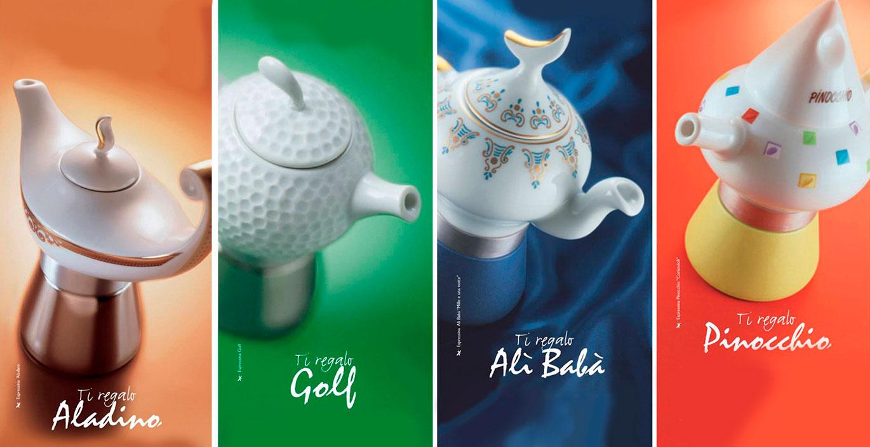 Коллекции кофеварок Ancap