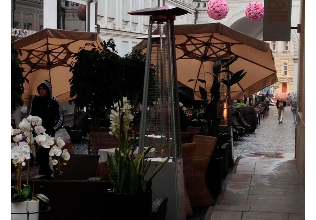 Открытая площадка ресторана, г. Москва