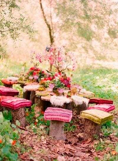 Сад в стиле бохо: фото идеи оформления