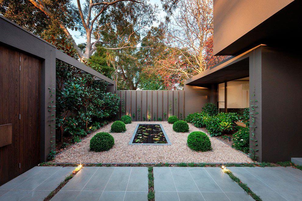 Сад в скандинавском стиле: фото идеи оформления