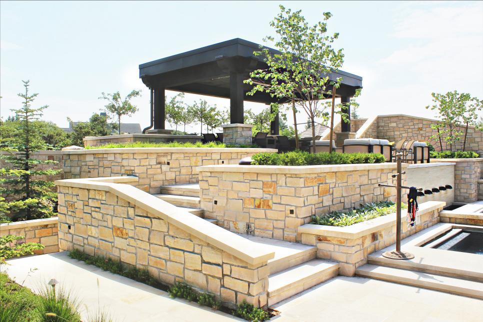 Отдельностоящие постройки-террасы: фото идеи дизайна