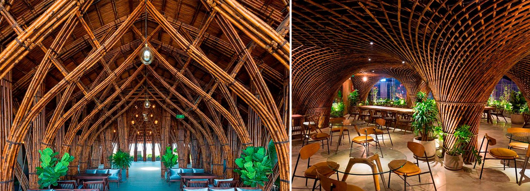 Бамбуковое кафе и клуб в центре Вьетнама по проекту VTN architects