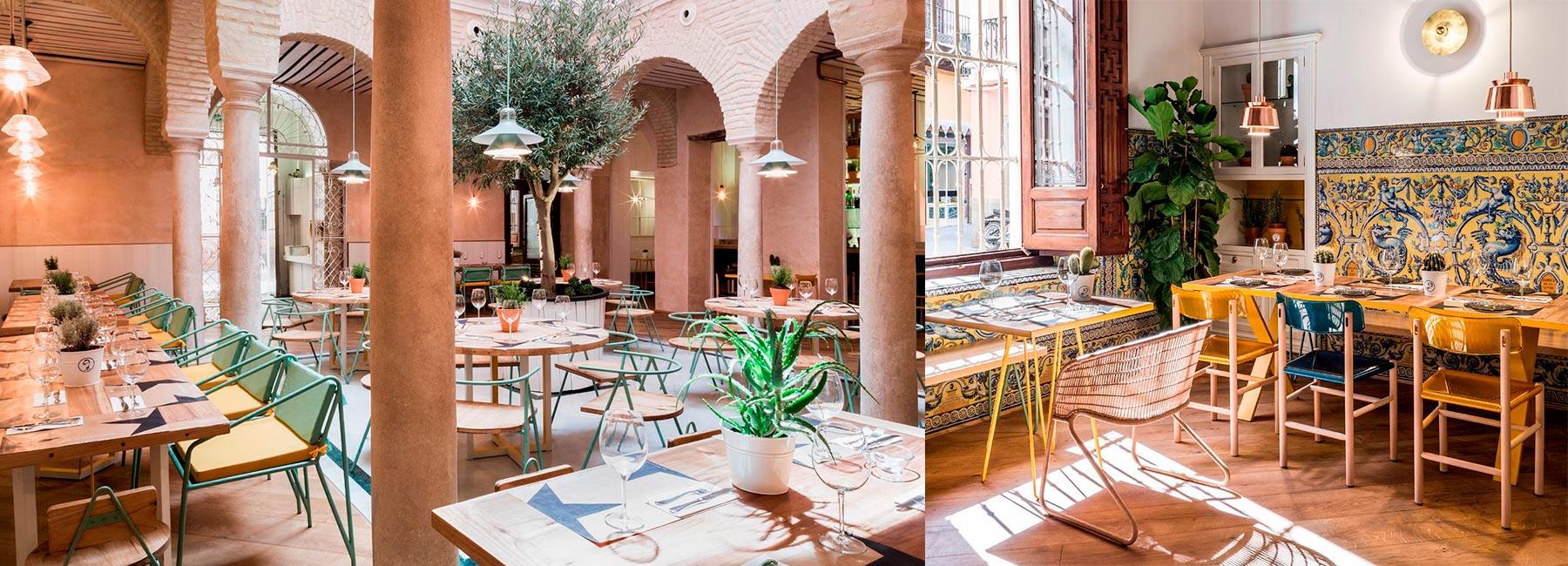 Дизайн интерьера ресторана EL PINTÓN, Севилья, Испания