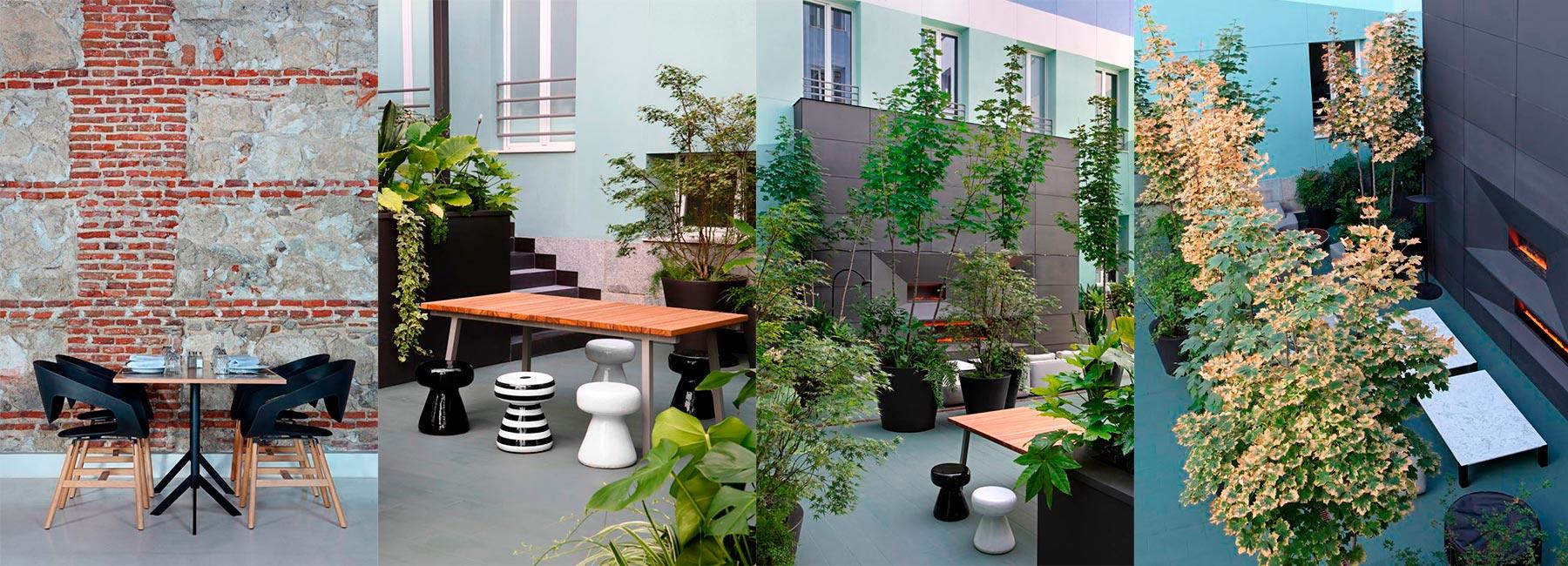 Отель Petit Palace Santa Barbara по проекту Teresa Sapey Studio, Мадрид