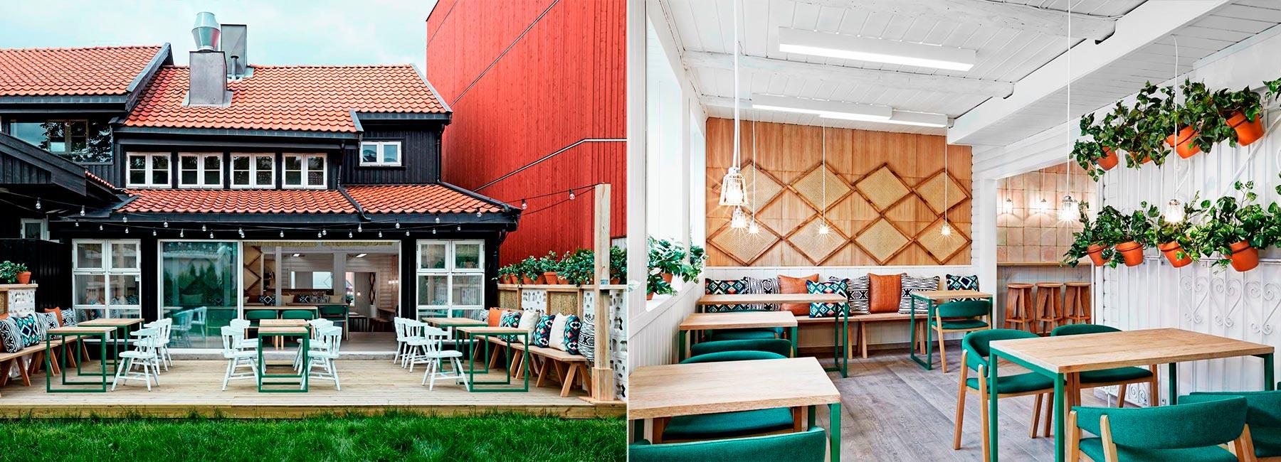 Частичка Испании в Осло. Дизайн интерьера экологического ресторана Vino Veritas