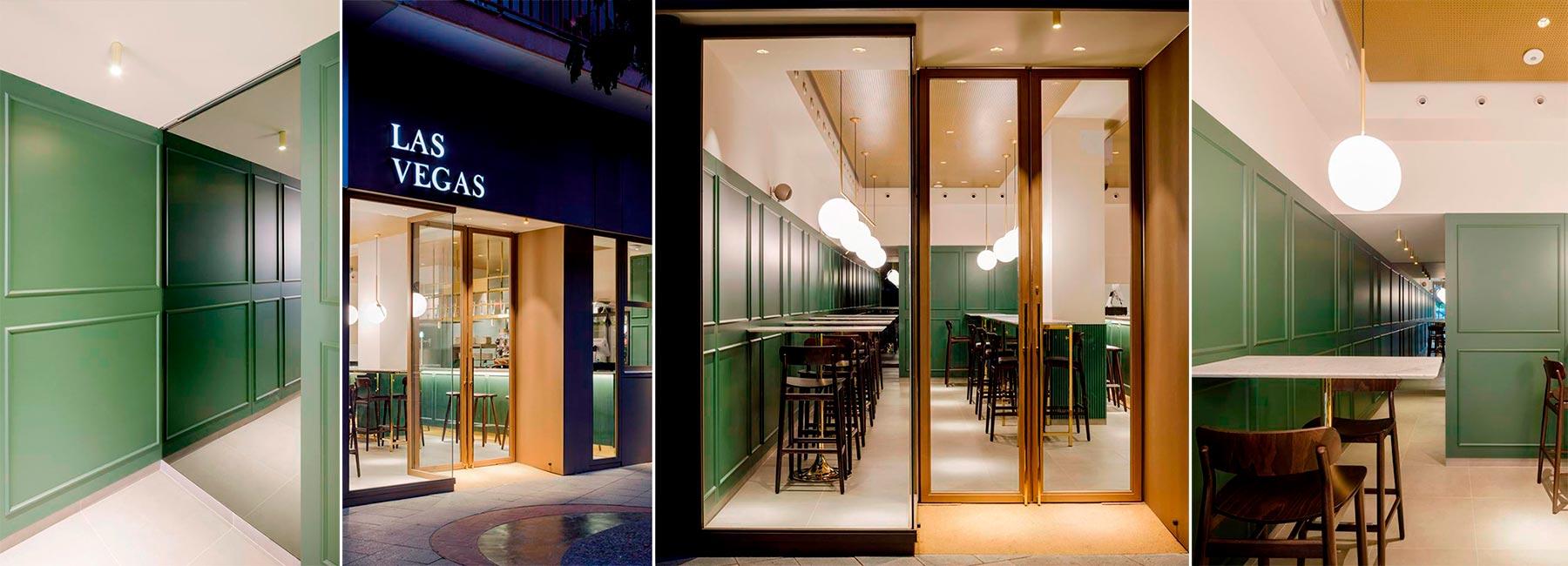 Ресторан с названием Лас-Вегас, но духом Франкфурта