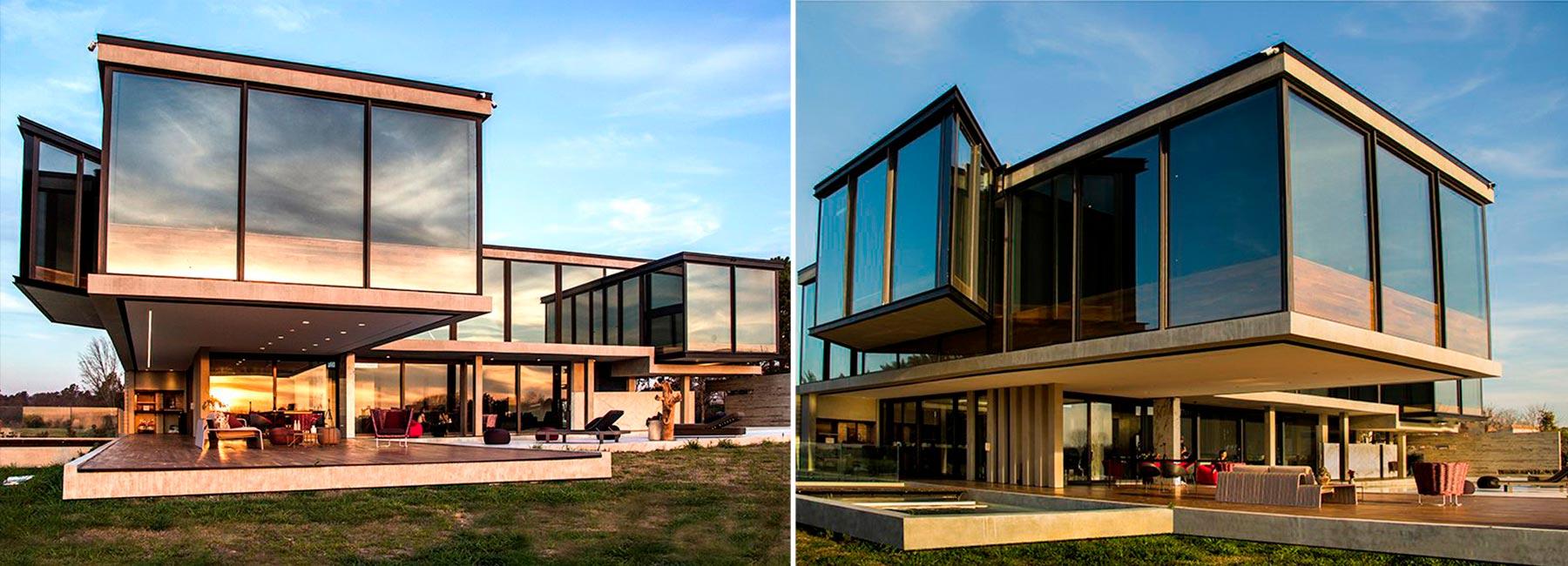 Дом с панорамой на 360º