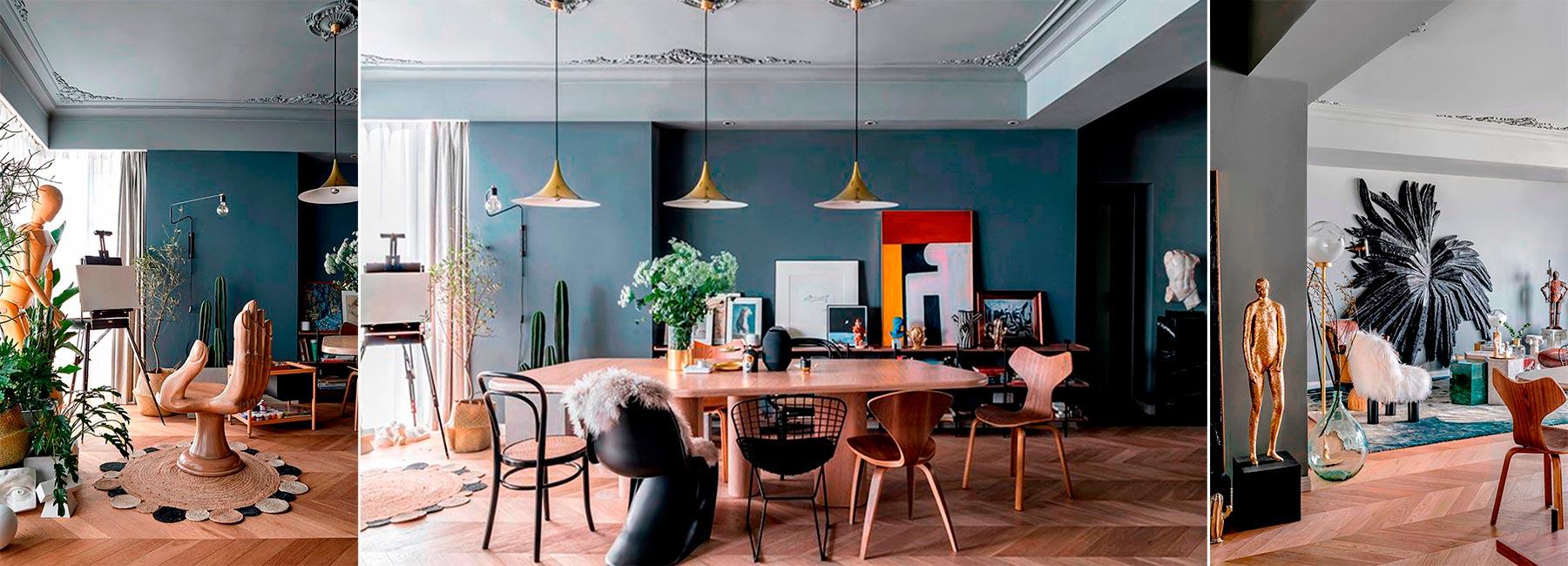 'Pippa's apartment'- необыкновенная квартира в Шанхае, декорированная в уникальном стиле