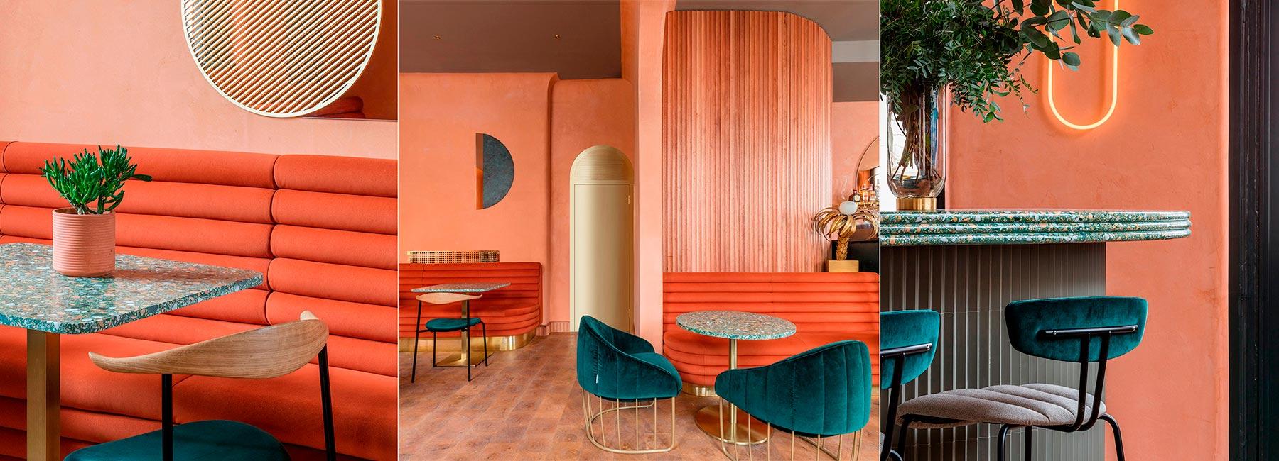 Ресторан в терракотовых тонах от Sella Concept – Omar's place