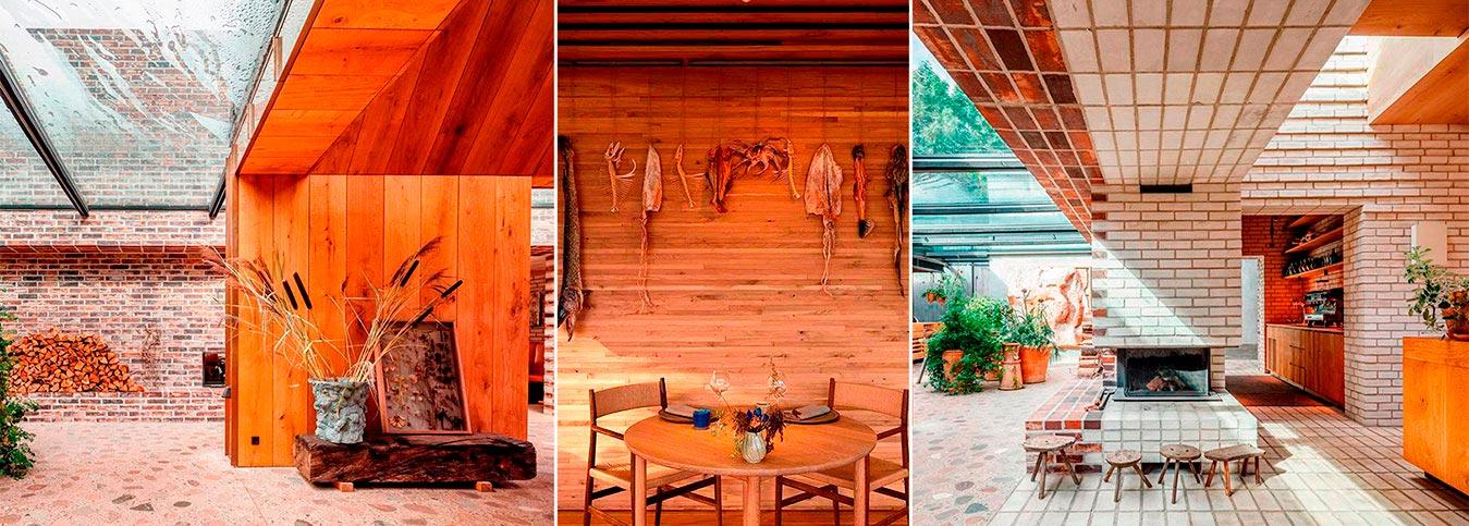 Всемирно известный ресторан Noma – обладатель 2-х звезд Мишлен, представлен в новом дизайне