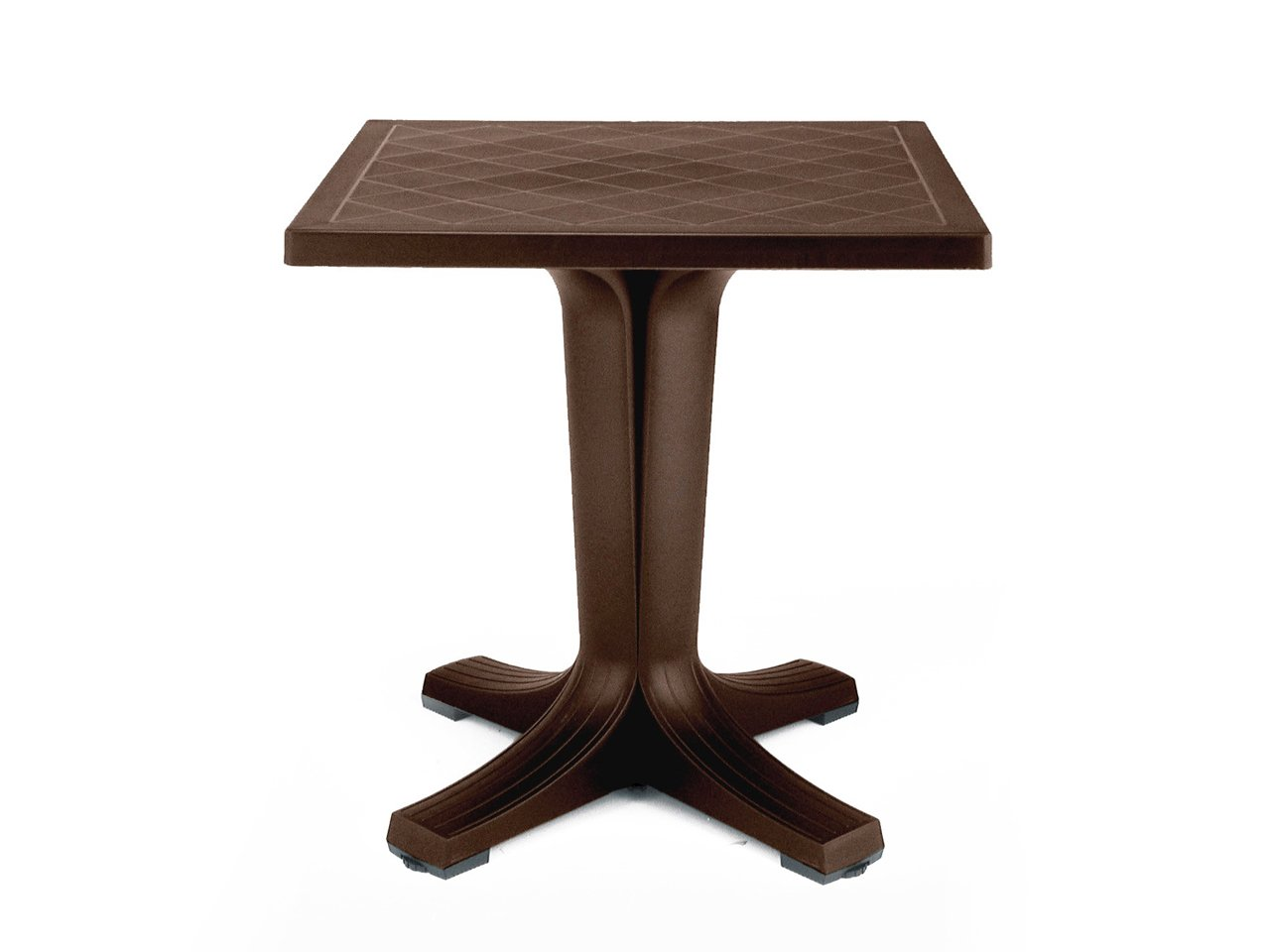 Стол пластиковый квадратный 70, giove, nardi, 700х700х730 мм.